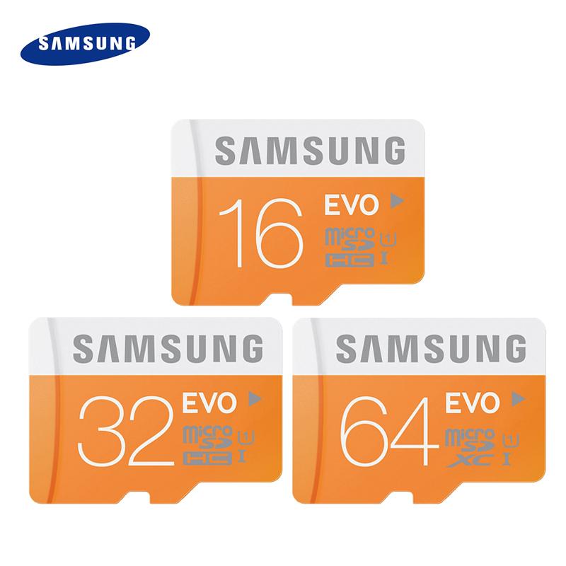 Samsung EVO Micro SD Card UHS-1 16GB 32GB 64GB Class10 TF Card Flash Memory 8GB class6 memory card for MP3 Smartphone Original(China (Mainland))