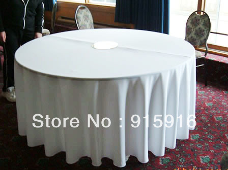 "wholesale cheap polyester table cloths, 108"" round, white tablecloths"