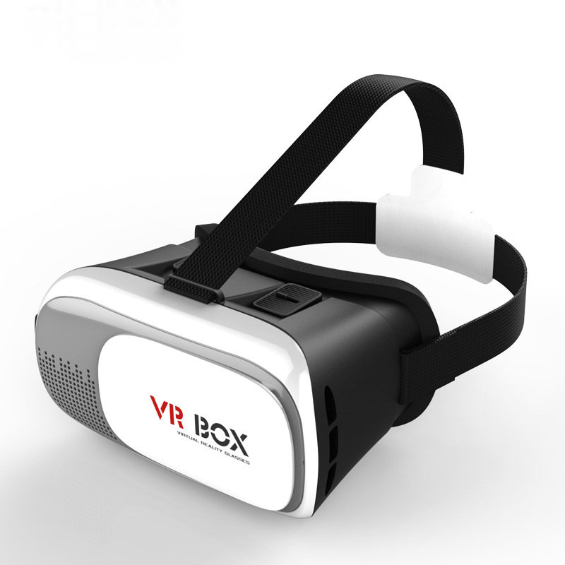 """Head Mount Plastic VR BOX 2.0 Version VR Virtual Reality Glasses Google Cardboard 3d Game Movie for 3.5"""" - 6.0"""" Smart Phone(China (Mainland))"""