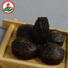 Special grade golden bowl Puer ripe tea shu Mini xiao tuocha Pu er Pu erh Pu