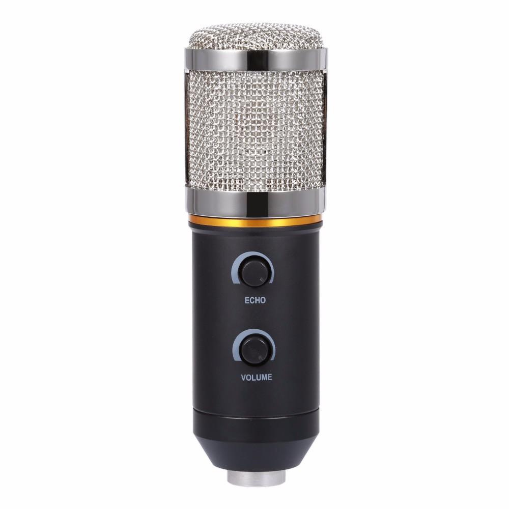 ถูก ใหม่MK-F200TLไมโครโฟนปรับระดับเสียงลดเสียงรบกวนคอนเดนเซอร์KTVเสียงสตูดิโอบันทึกเสียงไมค์ปรับปรุงMK-F100TL