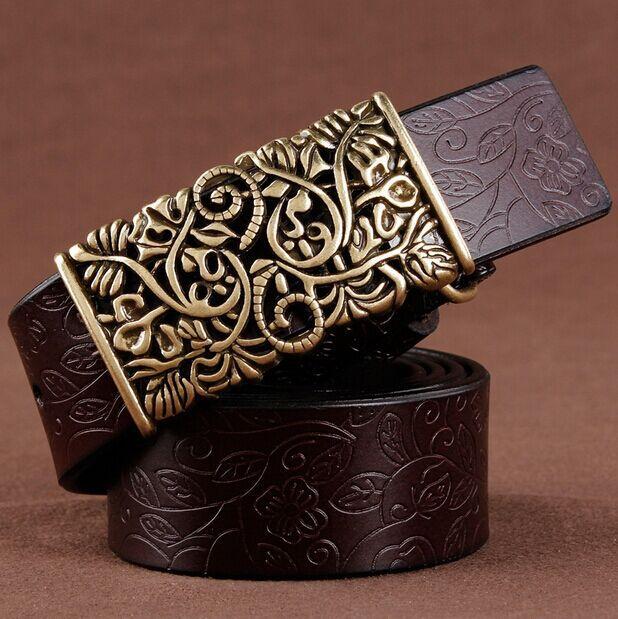 Factory sale pcs lot by dhl women leather belts metal