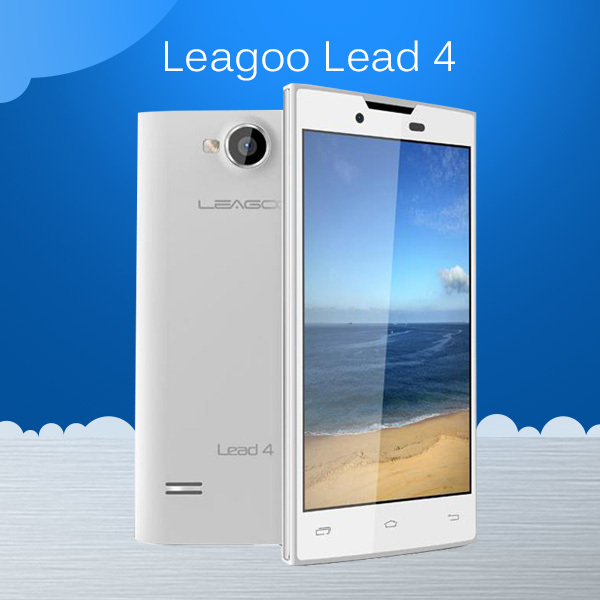 China Brand Cheap Phone LEAGOO LEAD4 MTK6572 Dual Core 1.0GHz RAM 512M ROM 4G 800*480 Android 4.2 3.0MP Camera Cheap Smartphone(China (Mainland))