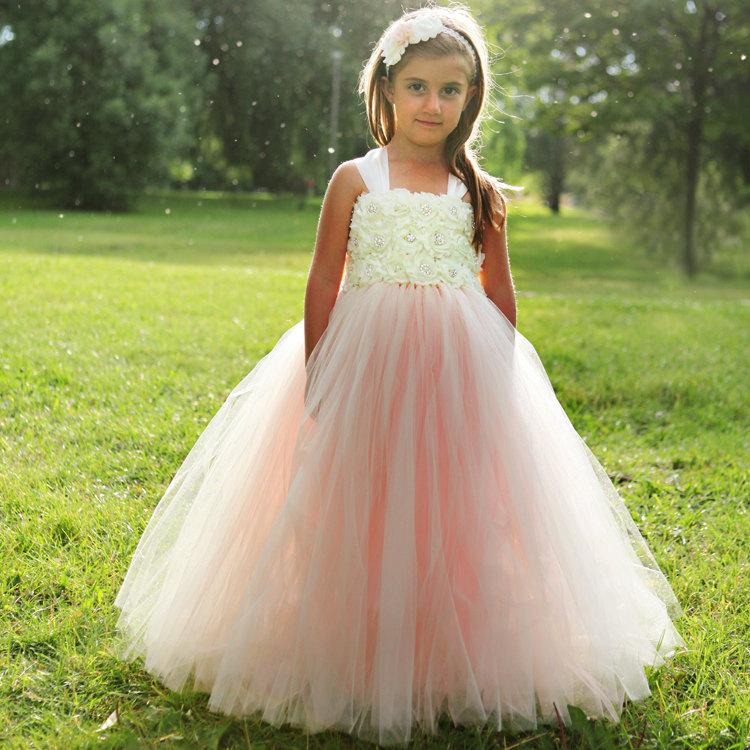 Beaded Flower Girl Dresses - RP Dress