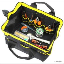Llantas multifunción engrosada alta calidad 600D PVC paquete electricista Kit pulgadas reparación bolsas de herramientas Kit