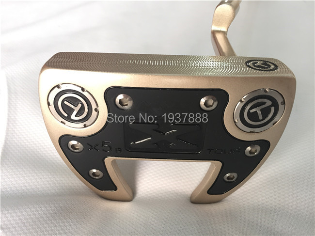 "BlACK Shaft Circle ""T"" X5R Tour Putter OEM Golf Clubs High Quality Golf Putter 33""/34""/35"" R/S-Flex Steel Shaft With Head Cover(China (Mainland))"