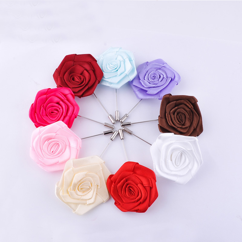 2016 New Arrival Man or Women Accessories 8.5 cm Long Pin for Dress Broches Brooch for Men's Suit Exquisite Flower Brooches Hot(China (Mainland))