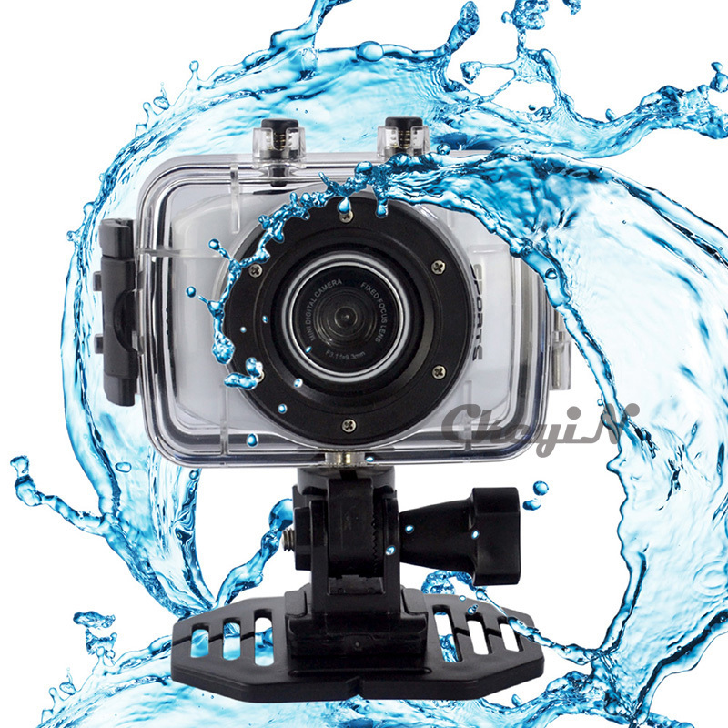 New Arrival Waterproof Sport Action Camera/Cam 720P HD Touch Panel Camcorders 10m Underwater Digital Video Camera/DV 0.29-DVR20W(China (Mainland))