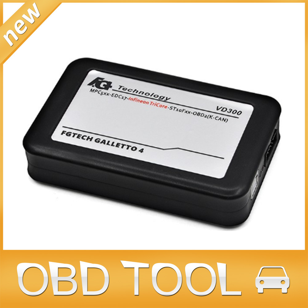 New vd300 V54 fg tech fgtech galletto 4 Master v54 FG Tech no time limited BDM-TriCore-OBD with BDM function DHL Free(China (Mainland))