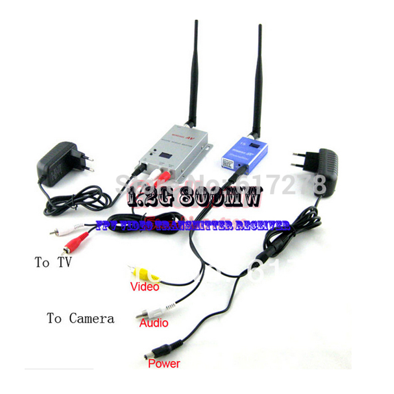 2015 Long Range 1.2G 900MHz 800mW RC FPV Quadcopter Video Transmitter Receiver TX/RX 900 MHz remote control Parts Free Shipping(China (Mainland))