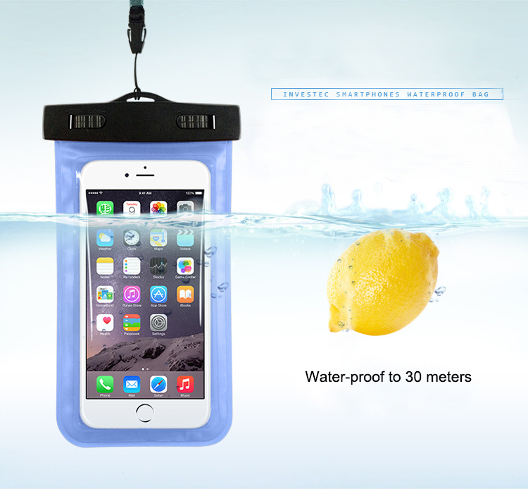 """Free Shipping PVC Waterproof Phone Underwater Case 4.5""""-5.5"""" phone for iphone 6 plus for moto g 2,for oneplus one xiaomi mi4(China (Mainland))"""