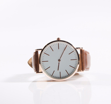 Relojes Women and Men Watches Japan Movement Rose Gold Real Leather Belts Free Shipping