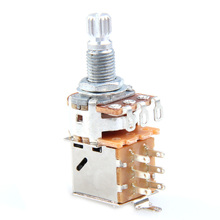 EA14 A500K Push Pull Control Pot Potentiometer for Electric Guitar Bass Musical Instruments(China (Mainland))