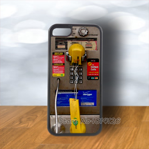 New Fashion Verizon Payphone for iPhone 4s 5s 5c 6 Plus for Samsung Galaxy S3 S4 S5 S6 Note cover(China (Mainland))