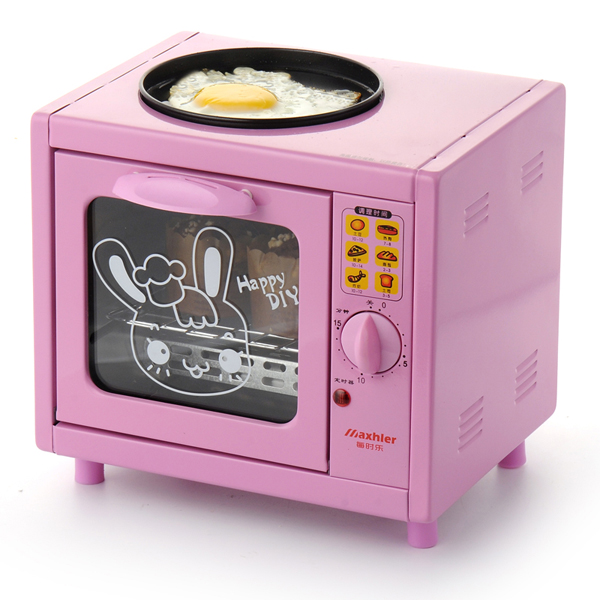 Best seller Hot sale Electric Mini Bakery Oven with timer for making bread,cake, pizza, 5L mini household multi-function oven(China (Mainland))