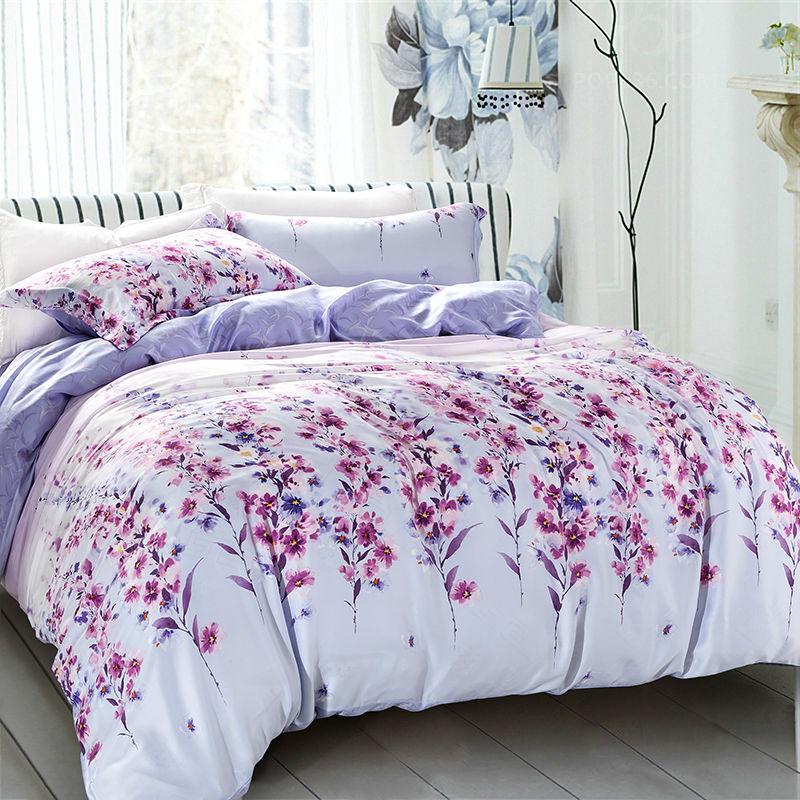 achetez en gros couvre lit violet en ligne des grossistes couvre lit violet chinois. Black Bedroom Furniture Sets. Home Design Ideas