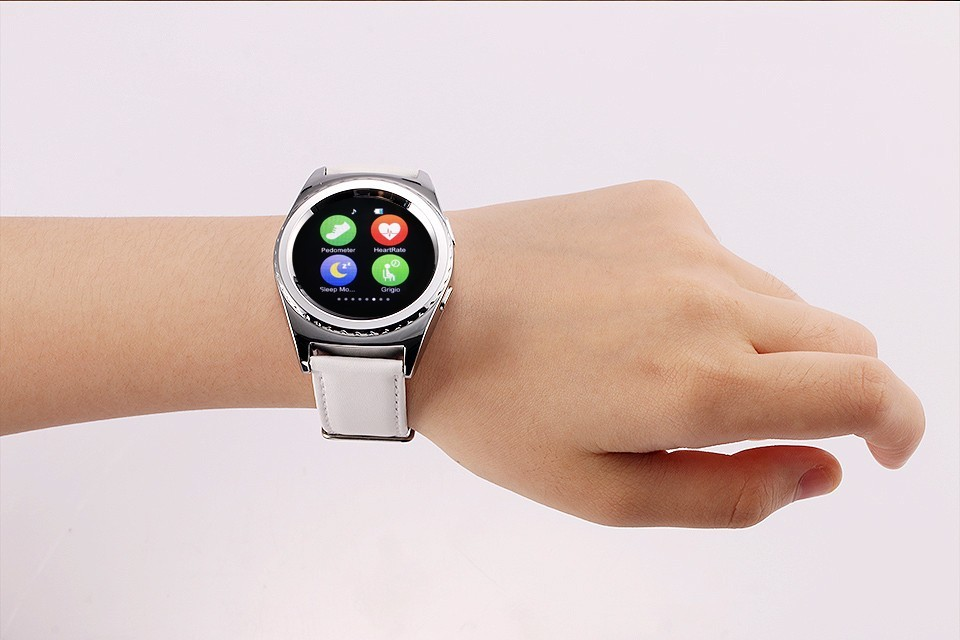 Paragon G4 Smart Watch Sim card TF Card Heart Rate Health Tracker Smartwatch for apple samsung gear s2 s3 G4 t1 t3 moto360 dz09