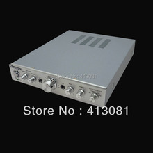 220v toroidal 4 tube 300w high power amplifier professional home audio amplifier(China (Mainland))