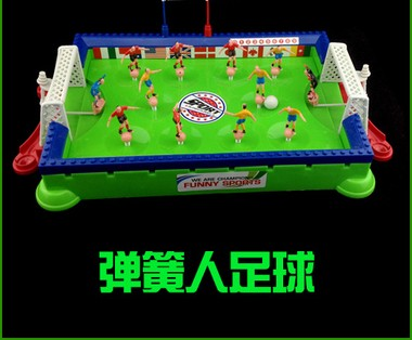 Various type Children's Soccer table games kids toys football Desktop finger Soccer Ball shooting Contest Springman(China (Mainland))