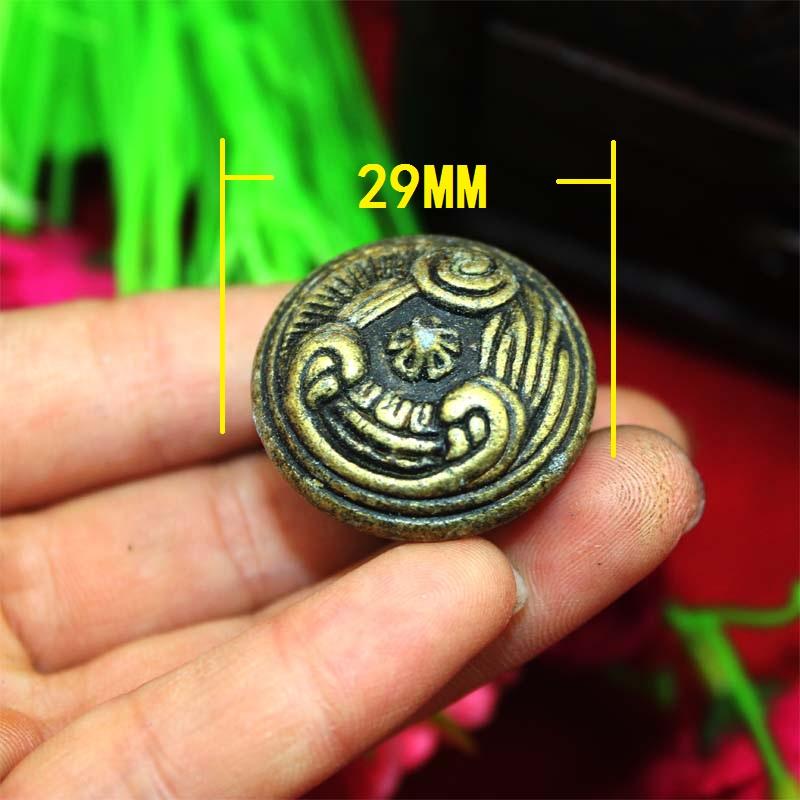 29mm Furniture Hardware Handle Drawer Desk Cabinet handle Hole B188 Antique round handle Wholesale(China (Mainland))