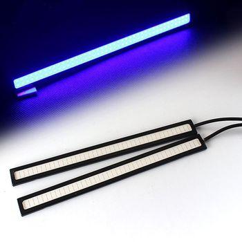 2Pcs 17CM LED COB DRL Daytime Running Lights DC12V External Waterproof Led Car Styling Car Light Source Parking Fog Bar Lamp