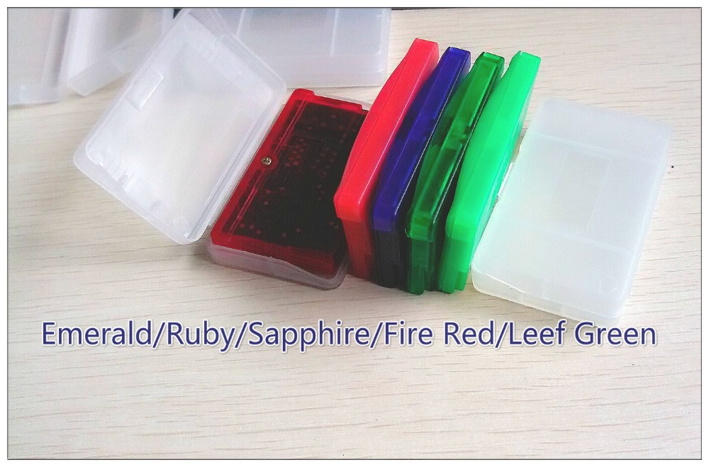 High Quality! 5 10 pcs/lot English Shiny Label for Pokemon Emerald , Fire Red, Ruby, Sapphire, Leaf Green Game FREE SHIPPING(China (Mainland))