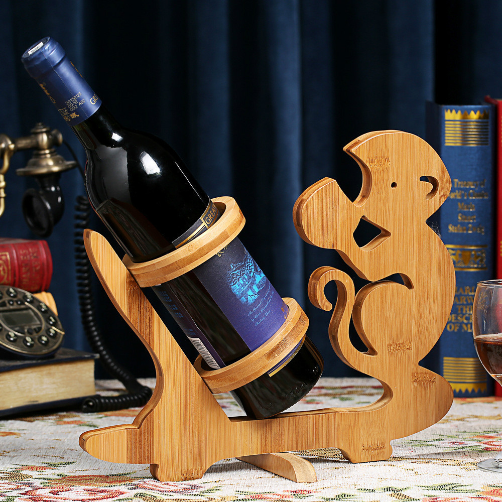 Подставка для бутылки вина из дерева своими руками 28