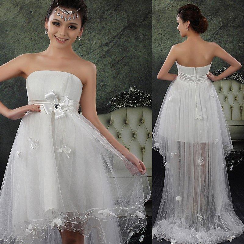 Free 2012 the latest wedding dresses tall waist the korean for Tall dresses for weddings