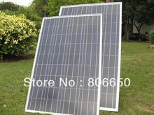 2pcs 100 W Watt 100W Solar Panels UL Listed Off Grid 12 Volt 12V RV Boat Marine(China (Mainland))