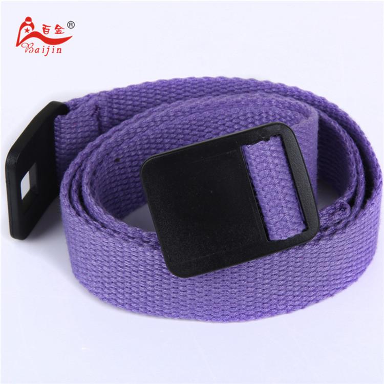 2.5cm webbing Waist Belt Candy Color Mens Womens Unisex Plain Webbing Canvas plastic Buckle Belt Personal Tailor