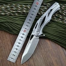 Shirogorov ALEXEY KONYGIN Transformers decepticon 1 cuchillos plegables de la lámina 9cr18mov acero inoxidable y manija G10 cuchillo táctico