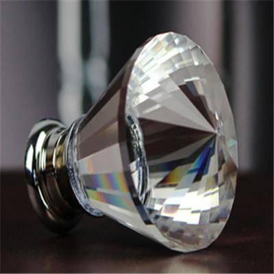 Гаджет  10pcs 30mm Zinc Alloy Clear Crystal Sparkle Glass Kitchen Cabinet Knobs Handles Dresser Cupboard Door Knob Pulls None Мебель