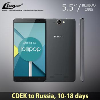 Новый Оригинальный смартфон Bluboo X550 с 4-ядерным процессором MT6735, HD-дисплеем 5.5 дюймов, 2 ГБ ОЗУ и 16 ГБ ПЗУ, 8 Мп камерой, поддержкой 4G LTE сетей и операционной системой Android 5.1 Lollipop