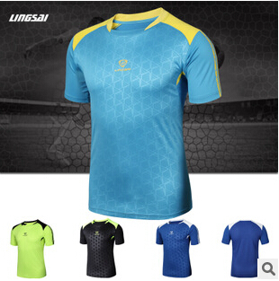 NEW2016 Men's Brand Logo T-shirt Sport outdoor Quick-drying Fabric Tops Tees Limited cheap Tops & Tees Plus size M-3XL wholesale(China (Mainland))