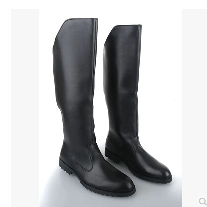 2015 autumn winter men 39 s fashion knee high boots riding boots for men and women high men 39 s black. Black Bedroom Furniture Sets. Home Design Ideas