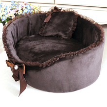 Hot Winter Soft Pet Dog Puppy Cat Soft Fleece Bed House Nest For Peg Cats Dog