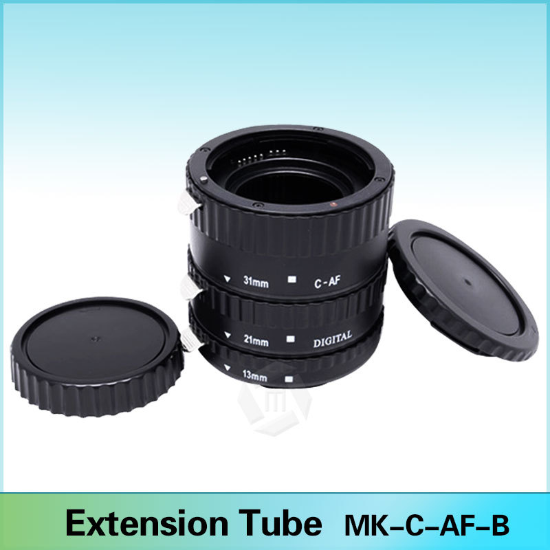 Meike C-AF1-B Auto Focus AF Macro Extension Tube Ring for Canon EOS 600D 450D 70D 60D 7D 6D 5D Mark II III T5i T4i T3i(China (Mainland))