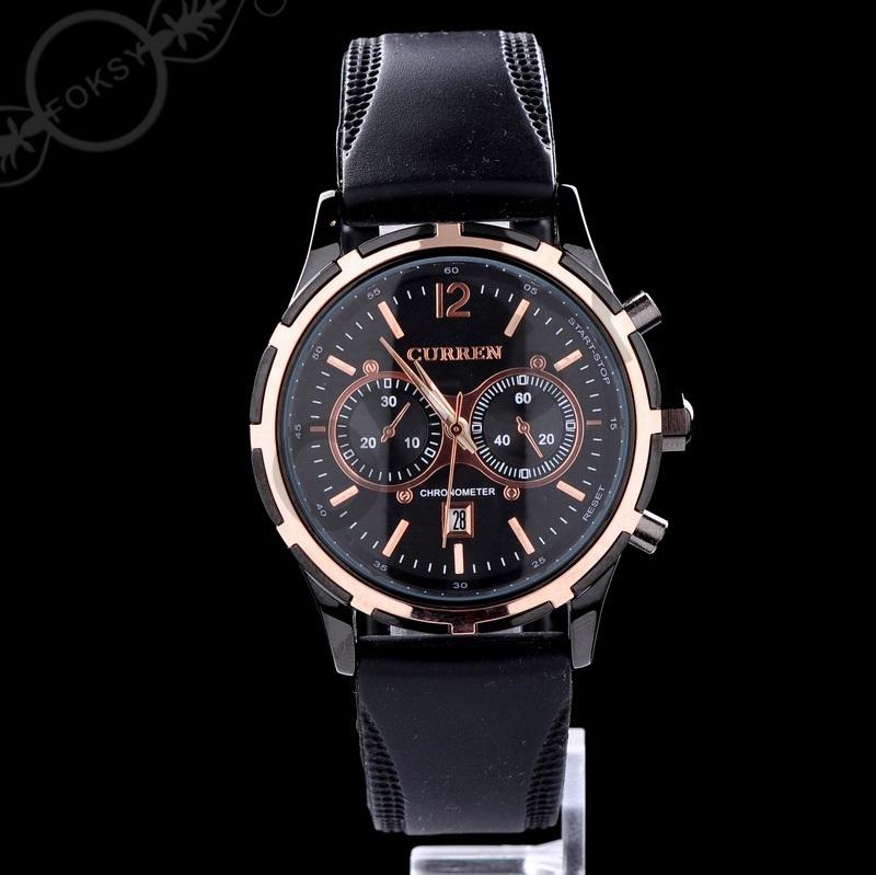10pcs LUXURY Curren Brand sport Quartz Watches Deluxe Men leather watch women Wristwatches Christmas Gifts men wristwatches 0661<br><br>Aliexpress
