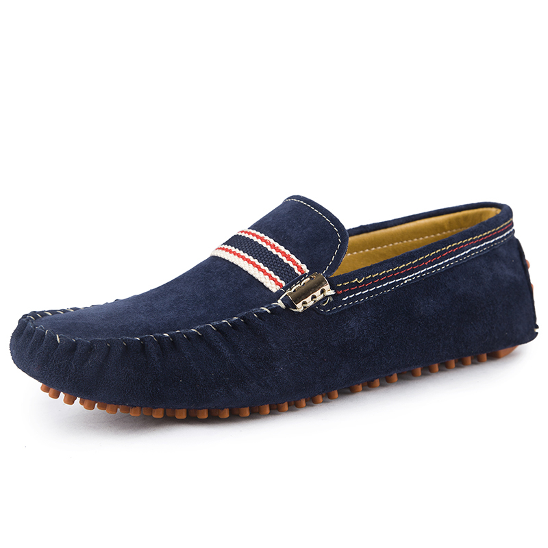 2015 NEW Men suede loafers spring summer Nubuck leather slip-on casual driving shoes fashion breathable moccasins 98011<br><br>Aliexpress