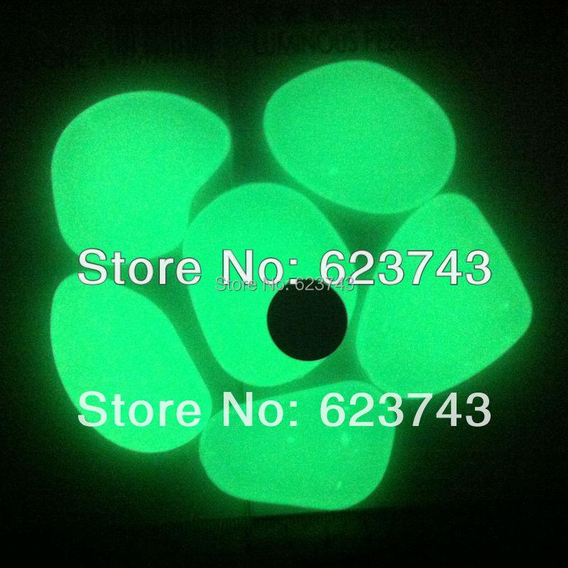 10Kg Yellow Green glowing stones/photoluminescent stone,Glow in the dark pebble/luminous pebble stone for garden and aquarium<br><br>Aliexpress