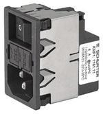 AC Power Entry Module 6A 2-P SW 2-P FUSE 10A / 250VAC KMF1.1161.11<br><br>Aliexpress