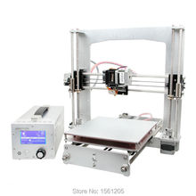 Latest High Precision Reprap Prusa i3 A Pro 3D Printer DIY Kit Main Board,Power Supply, LCD Display In One Box