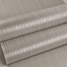 Modern Striped Gray Silver Wallpaper Roll 10m(China (Mainland))
