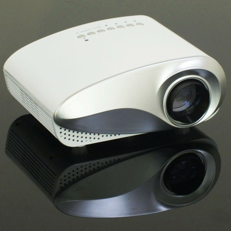 2016 hot selling hdmi mini usb projector built in tv tuner for Usb projector reviews