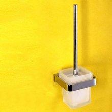 Bathroom hardware accessories whole brass brush holder wall brush shelf Bathroom brushs bathroom accessories