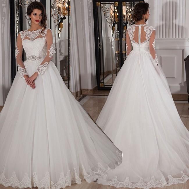 Robe-De-Noiva-Vintage-robe-De-mariée-en-dentelle-robes-De-mariée ...