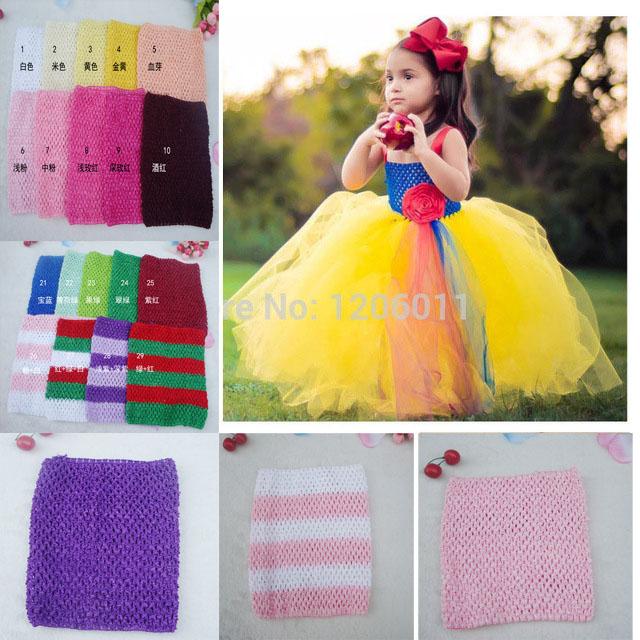 Wholesale 20*23cm Crochet tube top tutu top baby girl crochet pettiskirt tutu top crochet headbands Free Shipping 45pcs/lot(China (Mainland))