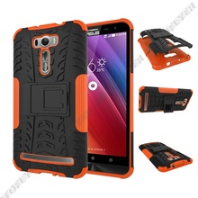 2 1 Armor Style Case Asus ZenFone Laser 6.0inch ZE601KL Back Cover Heavy Duty Coque PC+Silicone Fundas - Vision Electronic Technology Co., Ltd. of Shenzhen City store
