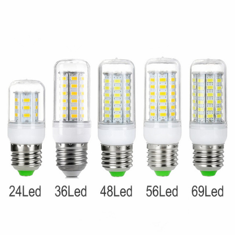 led lampada E27 220v LED bulb LED G9 Spotlight SMD 5730 bombillas led E14 24 36 48 56 69 leds with led energy saving lamp(China (Mainland))