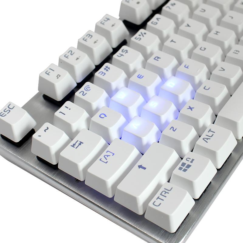 gaming keyboard ViewSonic KU520 Backlit Mechanical Keyboard 87Key Black Switch Black Green switch(China (Mainland))